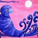 Purple Parrot by Kayleigh Walmsley