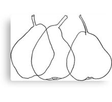 Pears drawing, 1903 Canvas Print