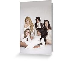 5H Sweaters Greeting Card
