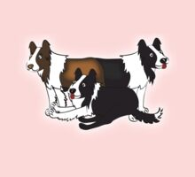 Border Collie One Piece - Long Sleeve