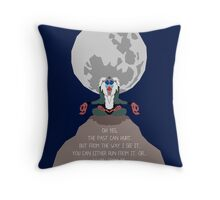 Rafiki -The Past Can Hurt- Throw Pillow