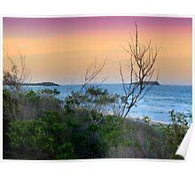 WOMMIN BAY BEACH Poster