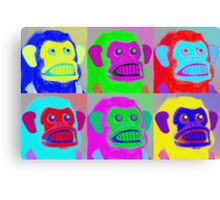 Pop Goes the Jolly Chimp Canvas Print