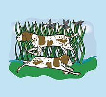 German Shorthaired Pointer by Diana-Lee Saville