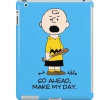 Charlie Make my day iPad Case/Skin
