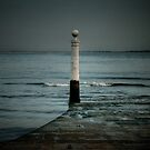 Lisbon pier by Laurent Hunziker
