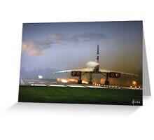 Concorde Takeoff Greeting Card