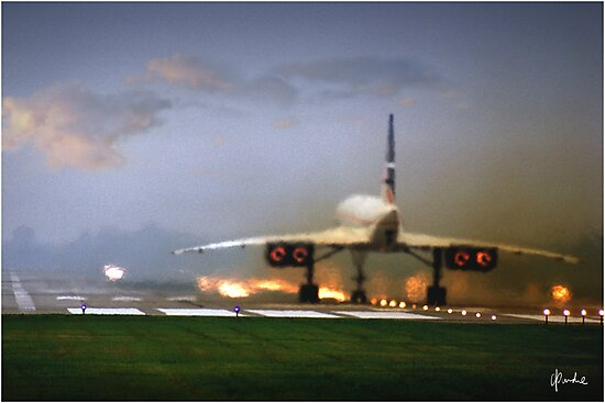 Concorde Takeoff by Need4Speed