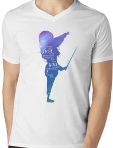 YLIA - Kaori Mens V-Neck T-Shirt