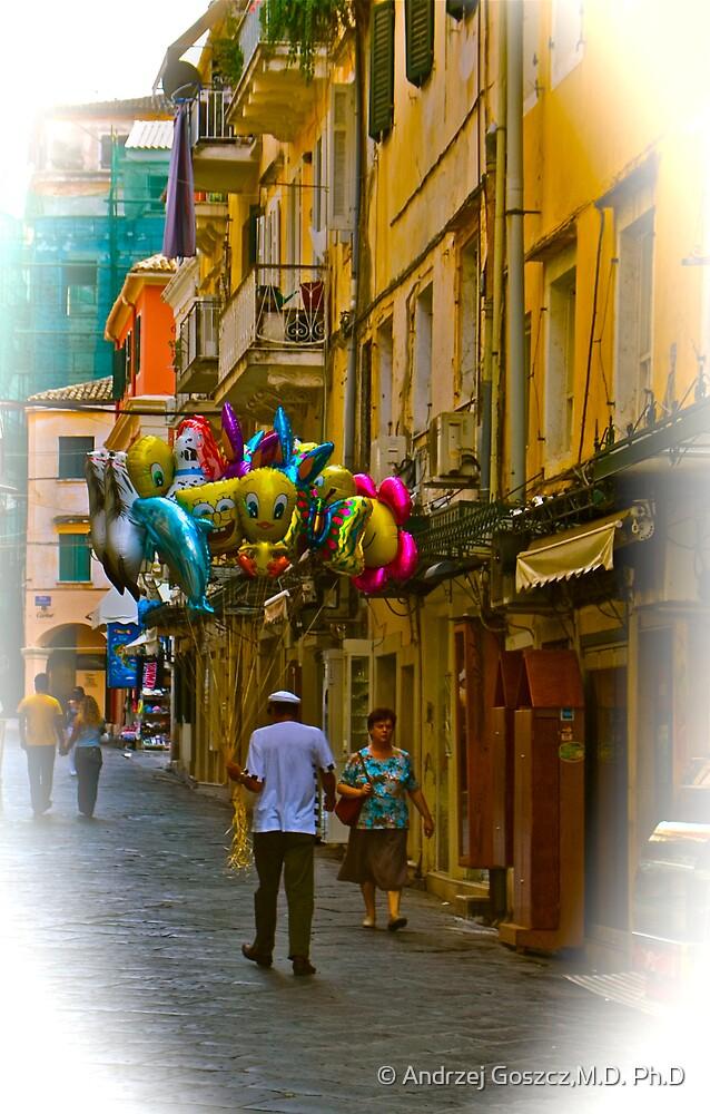 Streets Of Corfu (Greece). by Brown Sugar . Merry Christmas. F*. Favorites: 2 Views: 436 .  Kalimera Hellada ! Epitichia ! by © Andrzej Goszcz,M.D. Ph.D