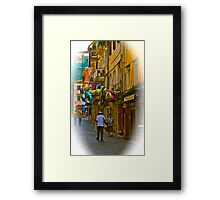 Streets Of Corfu (Greece). by Brown Sugar . Merry Christmas. F*. Favorites: 2 Views: 436 .  Kalimera Hellada ! Epitichia ! Framed Print