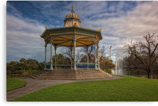 Elder Park • Adelaide • South Australia by William Bullimore