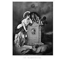 Abraham Lincoln -- In Memoriam Photographic Print