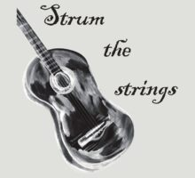 Shall strum the strings unto the Lord 4 T-Shirt