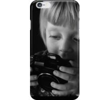 Photographers start the journey young iPhone Case/Skin