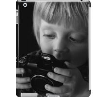 Photographers start the journey young iPad Case/Skin