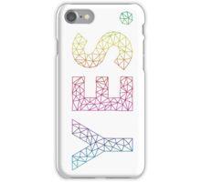 Geometric affirmation iPhone Case/Skin