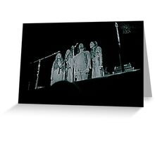 the incredible string band. filmore auditorium Greeting Card