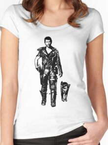 The Road Warrior Women's Fitted Scoop T-Shirt