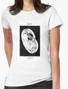 Tarot Collection: World Womens Fitted T-Shirt