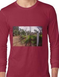 Footpath Near York, WA Long Sleeve T-Shirt