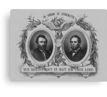 Grant And Colfax Election Canvas Print