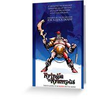 Kringle vs Krampus - MERRY CHRISTMAS 2010 Greeting Card