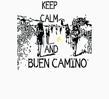 Keep calm and buen camino Women's Fitted V-Neck T-Shirt