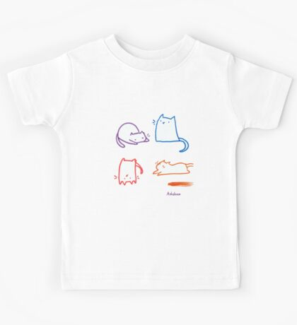 Silly Cats Kids Tee