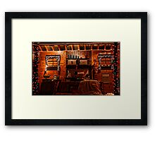 Home For Chirstmas Framed Print