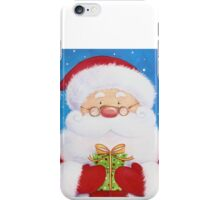 Cute Santa, Penguin and Reindeer iPhone Case/Skin