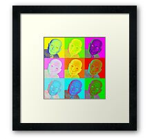 Pop Goes The Hugo Framed Print