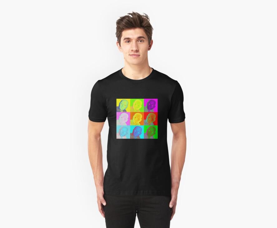 Warhol Hugo T-Shirt by Margaret Bryant