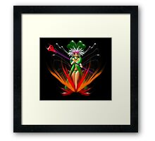 Beware the Sorceress iPad, etc. design Framed Print