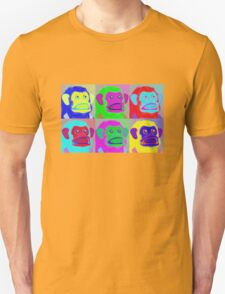 Warhol Musical Jolly Chimp T-shirt T-Shirt