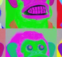 Warhol Musical Jolly Chimp T-shirt Sticker