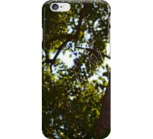 Webs In The Green iPhone Case/Skin