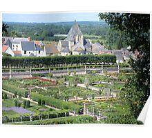 Gardens in France Poster