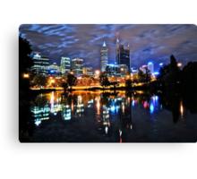 NIGHT CITY Canvas Print