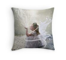 Winter Wishes and Dreams Throw Pillow