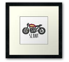 Cafe Racer Slunt Framed Print