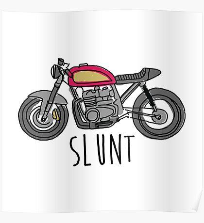 Cafe Racer Slunt Poster