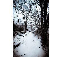 Snowy Creek Photographic Print