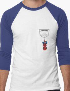 Pocket Spiderman Men's Baseball ¾ T-Shirt