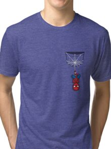 Pocket Spiderman Tri-blend T-Shirt