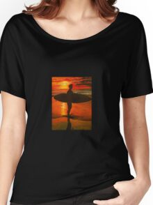Sunrise Surfer  Women's Relaxed Fit T-Shirt