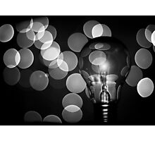 The light that burns twice as bright burns for half as long Photographic Print