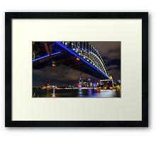 Vivid Bridge Framed Print
