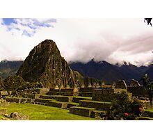 Inca ruins Photographic Print