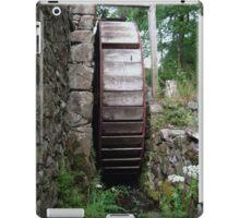 Water wheel iPad Case/Skin